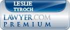 Leslie Marie Tyroch  Lawyer Badge