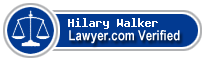 Hilary Haglund Walker  Lawyer Badge