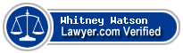 Whitney Anne Watson  Lawyer Badge