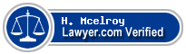 H. N. Mcelroy  Lawyer Badge