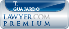 T. Anthony Guajardo  Lawyer Badge