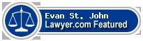Evan Michael St. John  Lawyer Badge