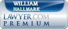 William L. Hallmark  Lawyer Badge