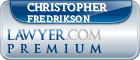 Christopher Todd Fredrikson  Lawyer Badge
