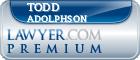 Todd James Adolphson  Lawyer Badge