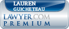 Lauren Catherine Guicheteau  Lawyer Badge