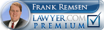 Frank Remsen  Lawyer Badge
