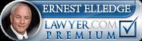 Ernest Thomas Elledge  Lawyer Badge