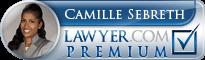 Camille Sebreth  Lawyer Badge