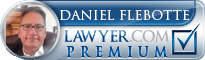 Daniel Flebotte  Lawyer Badge
