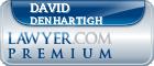 David Lee DenHartigh  Lawyer Badge