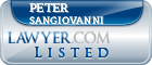 Peter Sangiovanni Lawyer Badge