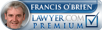 Francis T. O'Brien, Jr.  Lawyer Badge
