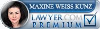 Maxine Weiss Kunz  Lawyer Badge