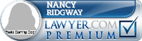 Nancy E. Ridgway  Lawyer Badge