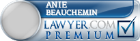 Anie Beauchemin  Lawyer Badge