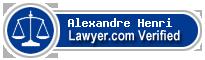 Alexandre Henri  Lawyer Badge