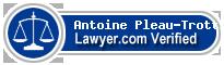 Antoine Pleau-Trottier  Lawyer Badge