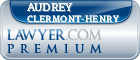 Audrey Clermont-Henry  Lawyer Badge
