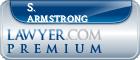 S. Bradley Armstrong  Lawyer Badge