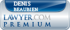 Denis Beaubien  Lawyer Badge