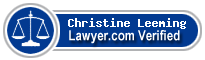 Christine Leeming  Lawyer Badge