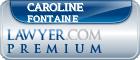 Caroline P. Fontaine  Lawyer Badge
