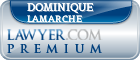 Dominique Lamarche  Lawyer Badge