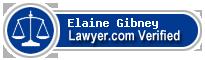 Elaine Gibney  Lawyer Badge