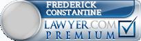 Frederick Joseph Constantine  Lawyer Badge