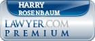 Harry Rosenbaum  Lawyer Badge