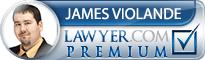 James Violande  Lawyer Badge