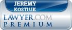 Jeremy Kostiuk  Lawyer Badge