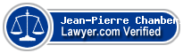 Jean-Pierre Chamberland  Lawyer Badge