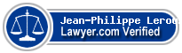 Jean-Philippe Leroux  Lawyer Badge