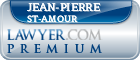 Jean-Pierre St-Amour  Lawyer Badge