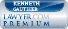 Kenneth Gauthier  Lawyer Badge