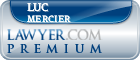Luc P. Mercier  Lawyer Badge
