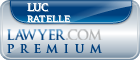Luc Ratelle  Lawyer Badge