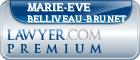 Marie-Eve Belliveau-Brunet  Lawyer Badge