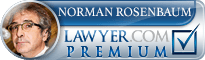 S. Norman Rosenbaum  Lawyer Badge
