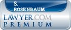 S. Norman Rosenbaum  Lawyer Badge