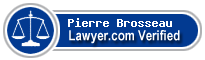 Pierre Brosseau  Lawyer Badge