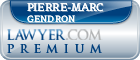 Pierre-Marc Gendron  Lawyer Badge