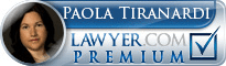 Paola Tiranardi  Lawyer Badge