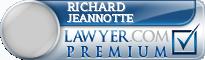Richard Jeannotte  Lawyer Badge