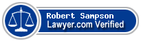 Robert Sampson  Lawyer Badge