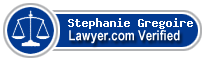 Stephanie Gregoire  Lawyer Badge