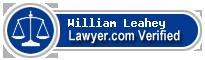 William M. Leahey  Lawyer Badge