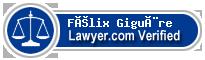 Félix Giguère  Lawyer Badge